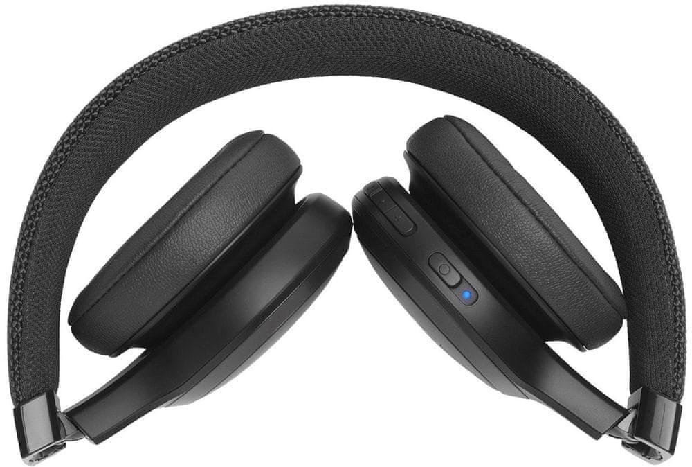 JBL LIVE 400BT bezdrátová sluchátka, černá - zánovní