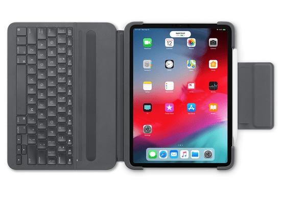 Logitech tipkovnica Slim Folio Pro za iPad Pro 12.9 (3. gen) SLO g. - Odprta embalaža