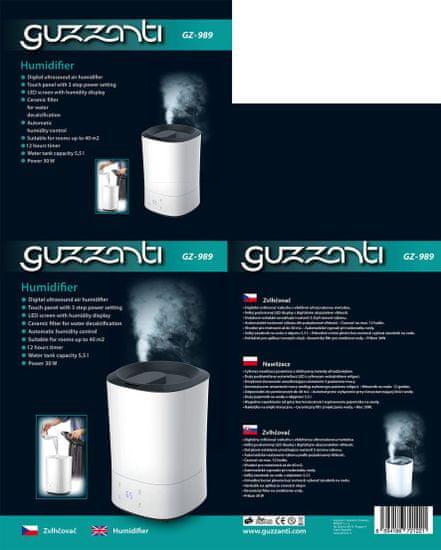 GUZZANTI nawilżacz powietrza GZ 989