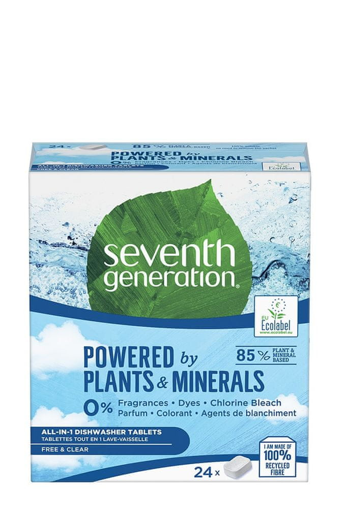 Seventh Generation All in One Free&Clear 24 tablet