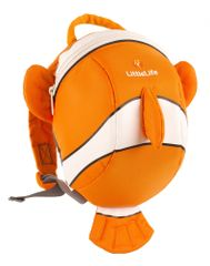 LittleLife Állatos tipegő hátizsák, Bohóchal