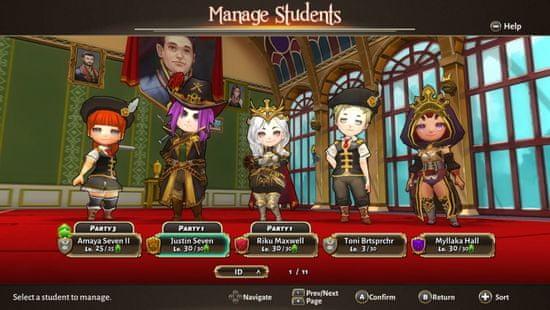 PQube igra Valthirian Arc: Hero School Story (Switch)