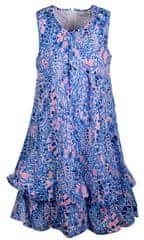 Happy Girls dekliška obleka, modra, 86