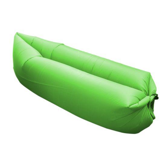 Master nafukovací vak Lazy Air - zelený