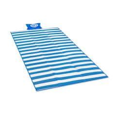 NILS CAMP plážová deka s vankúšikom NC1300 modrá