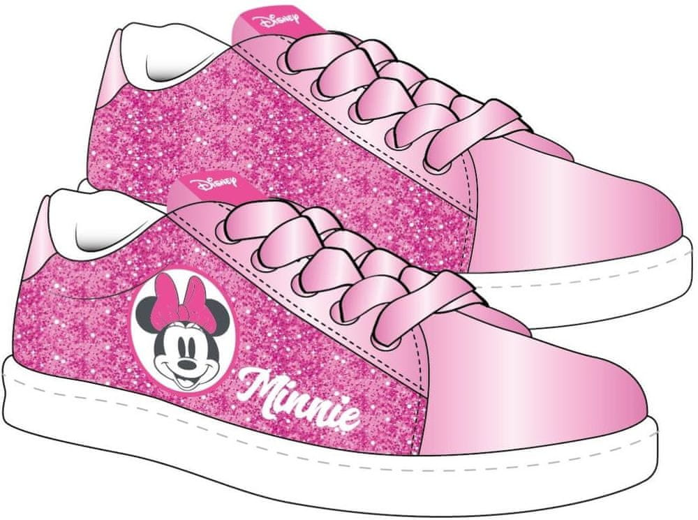 Disney dívčí tenisky Minnie 29 růžová