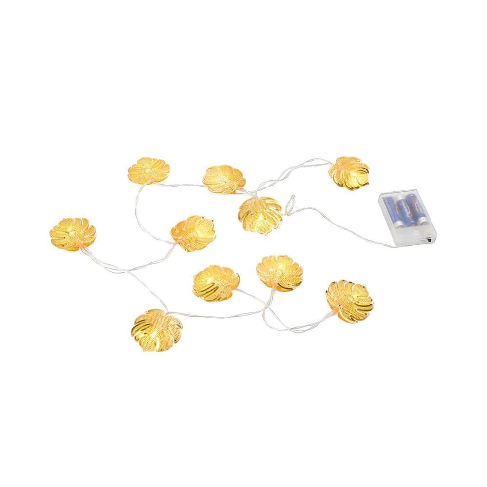 Butlers LED Světelný řetěz Monstera 10 světel