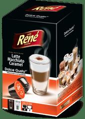 René Latte Macchiato Caramel kapsuly pre kávovary Dolce Gusto 16 kapsúl