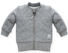 PINOKIO dětský kabátek Wild Animals 62 šedá