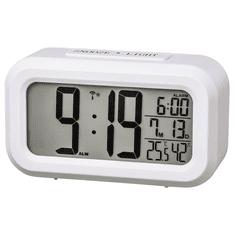 Hama RC 660, digitális rádiós vezérlésű ébresztőóra, fehér