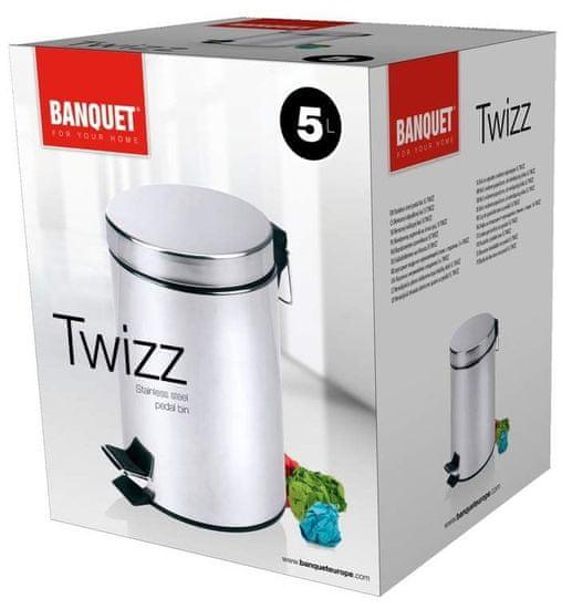Banquet TWIZZ, koš za odpadke, 5 l