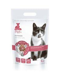 thePet+ 3in1 cat OUTDOOR, hrana za mačke, 1 kg