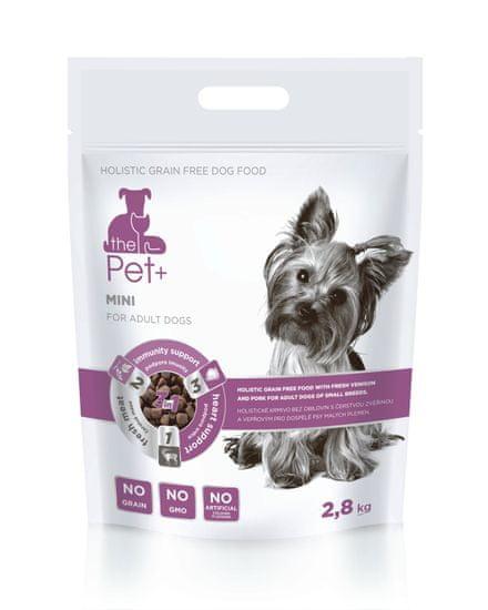 thePet+ 3in1 dog MINI Adult, hrana za pse, 2,8 kg