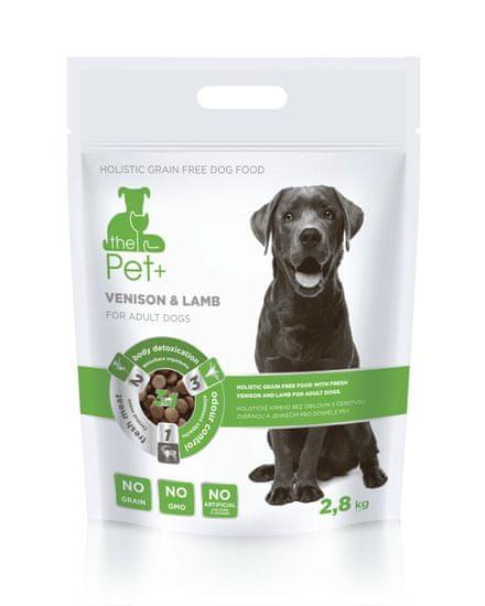 thePet+ 3in1 dog VENISON &LAMB Adult 2,8 kg