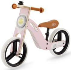 KinderKraft Uniq pedál nélküli gyerekkerékpár rózsaszín