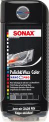 Sonax barvna polirna pasta NanoPro, črna, 500 ml