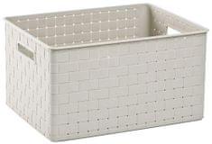 Curver Nuance škatla za shranjevanje L, bela