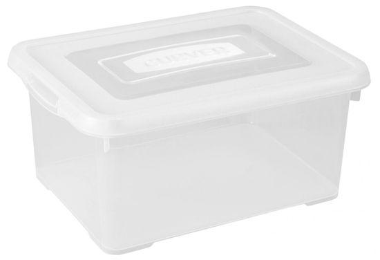 CURVER pojemnik plastikowy Handy box 35 l, transparentny