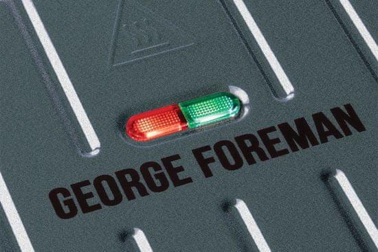 George Foreman 25041-56 Steel Family Grill Gunmetal kontaktni žar