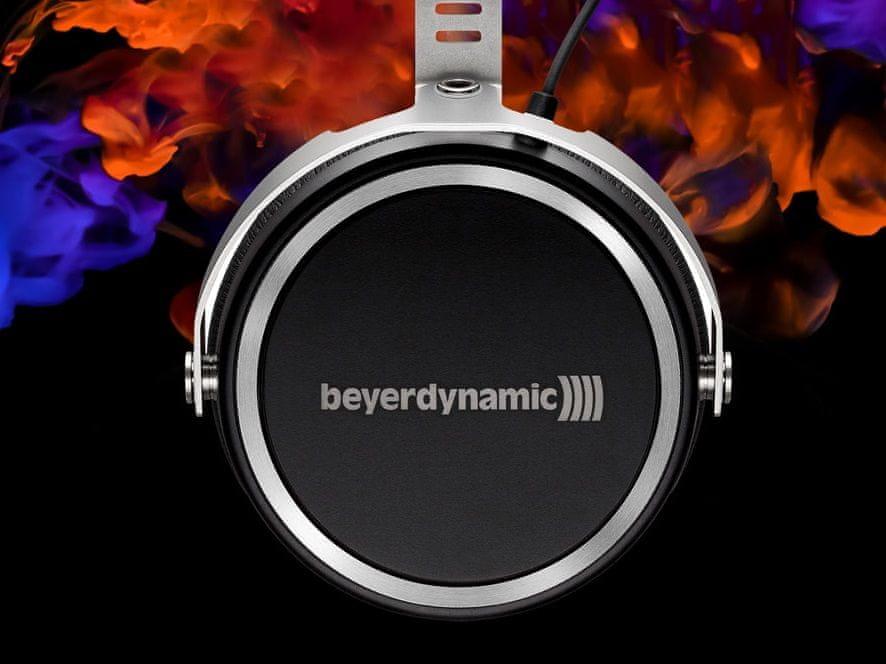 Sluchátka Beyerdynamic Aventho wired drivery tesla neodymové magnety čistý zvuk tlumí okolní ruch