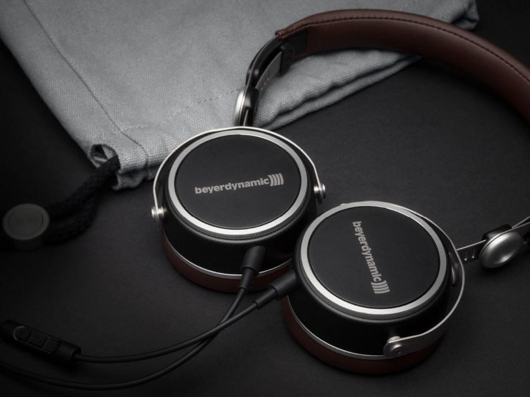 Sluchátka Beyerdynamic Aventho wired 3,5mm jack 3 pouzdro na sluchátka ovládání na kabelu