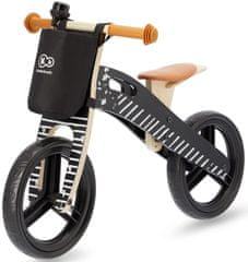 KinderKraft Pedál nélküli bicikli fekete kiegészítőkkel