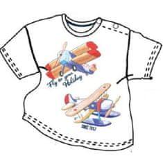 Carodel chlapecké tričko 62 bílá