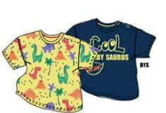 Carodel dětská sada dvou triček 62 vícebarevná