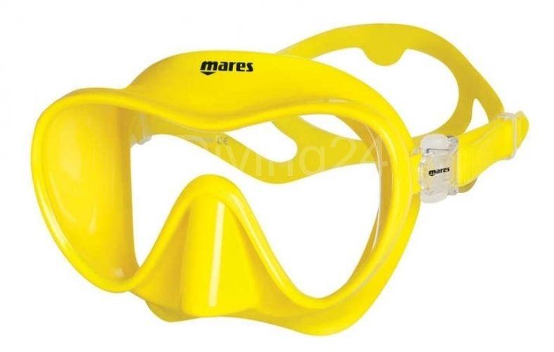 Mares Maska TROPICAL, žlutá