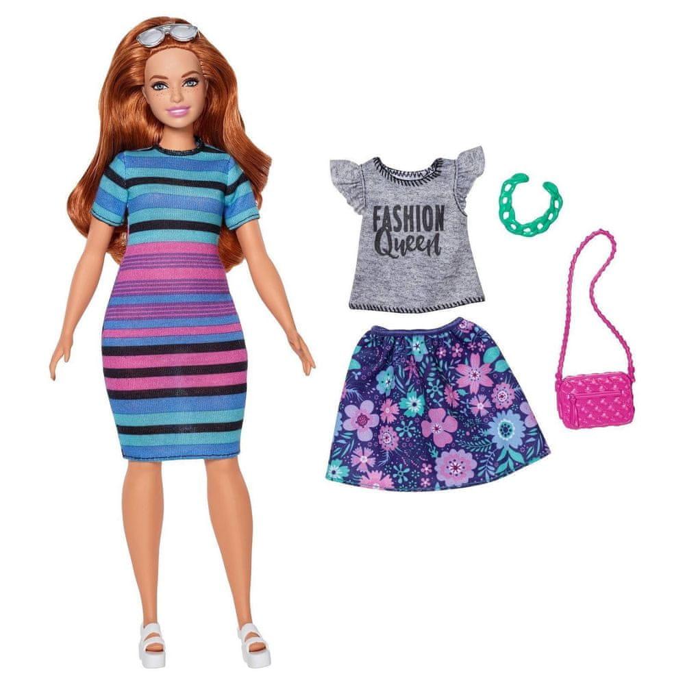 Mattel Barbie Modelka s oblečky a doplňky 84