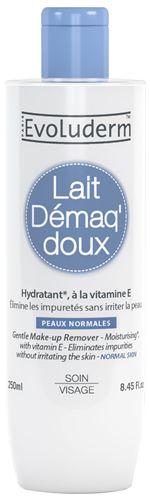 Evoluderm Jemné odličovací mléko pro normální pokožku (Gentle Make-up Remover) 250 ml