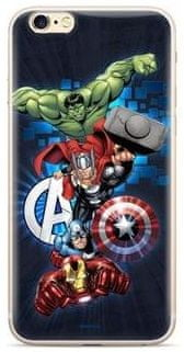 MARVEL Avengers 001 Zadní Kryt pro Huawei Y6 2019 Dark Blue MPCAVEN114