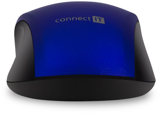 Connect IT mysz Mute, niebieska (CMO-2230-BL)
