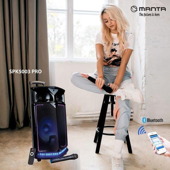 Manta zvočnik SPK5003 PRO - Odprta embalaža