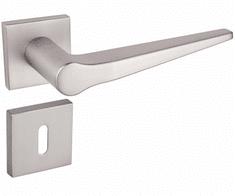 Infinity Line Gusto 600 satyna mat nikiel - okucia do drzwi - pod klucz pokojowy