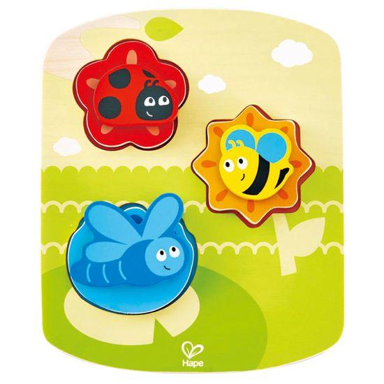 Hape Toys puzzle bubamara, leptir i pčela