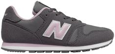 New Balance lány tornacipő YC373CE 31 szürke