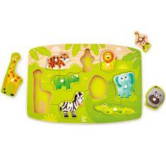 Hape puzzle džungla