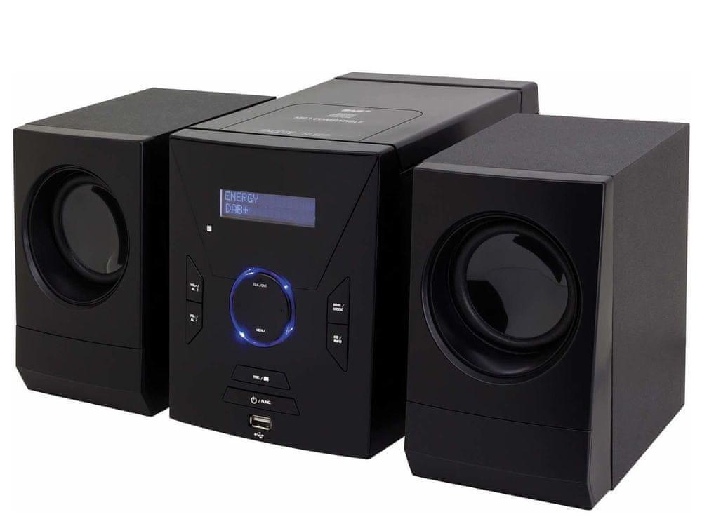 Soundmaster MCD400, mikrosystém s BT a DAB