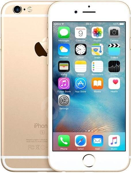 Apple iPhone 6S, 32 GB, zlatý
