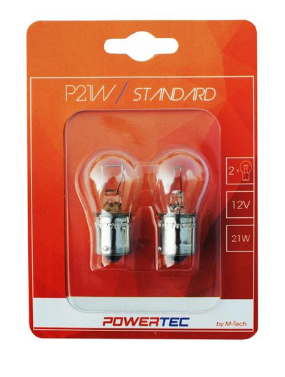 POWERTEC žarulja Standard P21W 12V 21W BA15S