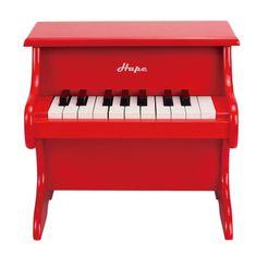 Hape klavir, crvena