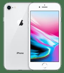 Apple iPhone 8, 64GB, Stříbrný - zánovní