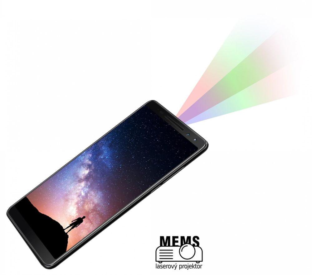 iGET Blackview MAX G1, 6GB/64GB, Black s projektorem