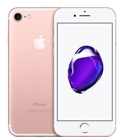 Apple iPhone 7, 32GB, Růžově zlatý