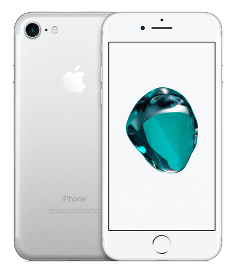 Apple Refurbished smartfon iPhone 7, 128GB, Silver (Renewd)
