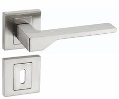 Infinity Line Nove KNV 300 satyna - okucia do drzwi - pod klucz pokojowy