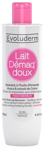 Evoluderm Jemné odličovací mléko pro citlivou pokožku (Gentle Make-up Remover) 250 ml