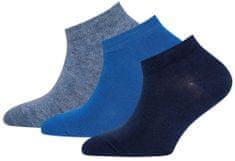 EWERS zestaw trzech par skarpetek chłopięcych 27 - 30 niebieski
