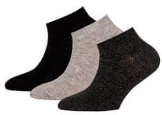 EWERS otroški komplet treh parov nogavic, 27 - 30, črni
